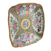 Chinese Canton Famille Rose Dish (7 of 7)
