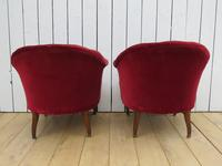 Pair of Antique French Button Back Chairs (3 of 9)