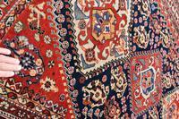 Antique Qasgai Tribal Rug 158x115cm (4 of 5)