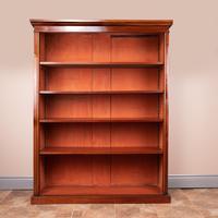 Large Mahogany Bookcase (2 of 6)