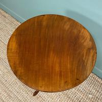 George III Mahogany Antique Occasional Table / Lamp Table (6 of 6)