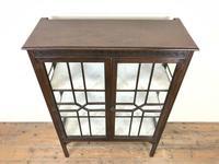 Antique Mahogany Display Cabinet (2 of 8)