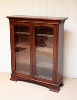 Edwardian Mahogany Glazed Bookcase c.1910 (2 of 11)