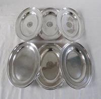 Silver Plated Salvers / Serving Plates 19th Century (4 of 9)