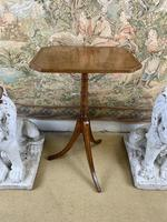 19th Century Lamp Table on Tripod Base (2 of 5)