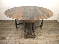 18th Century Oak Gateleg Table (4 of 10)