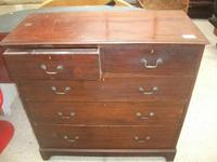 Mahogany Chest of Drawers (2 of 3)