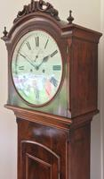 Gorgeous Eight Day Irish Longcase Clock Mid Nineteenth Century (2 of 9)