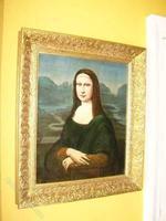 Mona Lisa Old Master 18th Century Oil Portrait Painting on Canvas after Leonardo Da Vinci (9 of 9)