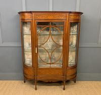Maple & Co Inlaid Mahogany Display Cabinet (2 of 13)