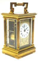 Fine French Repeat Carriage Clock with Foliate Carved Decoration By Charles Frodsham London (5 of 12)