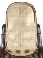 Bentwood Rocking Chair with Cane Seat (5 of 11)