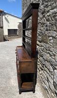 Antique Georgian Oak Potboard Dresser (7 of 28)