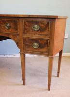 Antique Georgian Style Mahogany Shaped Front Sideboard (5 of 10)