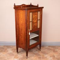 Inlaid Rosewood Music Display Cabinet (6 of 15)