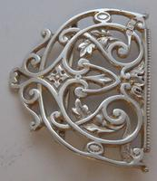 Rare Victorian 1900 Hallmarked Solid Silver Nurses Belt Buckle Elkington & Co (7 of 7)