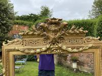 Large gilt mirror with swags (6 of 6)