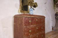 18th Century Gustavian Original Painted Commode - Red (12 of 15)