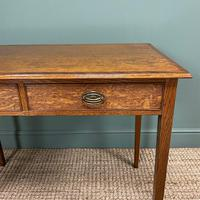 Georgian Country Oak Antique Side Table (2 of 8)