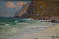 Cornish coastal landscape by H A Minton (5 of 6)