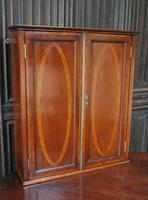 Antique mahogany hanging cabinet (3 of 7)