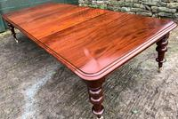 Very Large Victorian Mahogany Extending Dining Table (4 of 16)