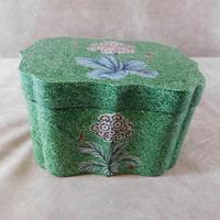 Serpentine Lacquered Decorative Box