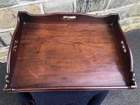 Antique George III Mahogany Butlers Tray (2 of 7)