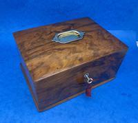 Walnut Jewellery Box c.1900 (14 of 14)