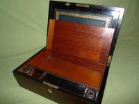 Fine Quality Inlaid Rosewood Writing Box c.1870 (7 of 11)