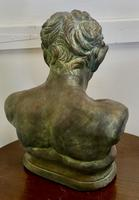 Bust of a Young Satyr in a Bronze Patina (4 of 7)