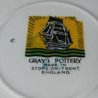 "Gray's Pottery ""Colt Texas Paterson""Moustache Cup & Saucer (3 of 6)"