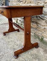 Antique Regency Mahogany Library Table (9 of 14)