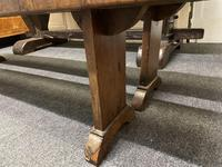 Rustic Oak Farmhouse Table & Bench Set (15 of 29)