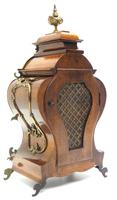 Magnificent French 8-day Mantle Clock Walnut Boulle Striking Mantle Clock (3 of 11)