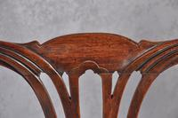 Pair Of 18th Century Mahogany Chippendale Side Chairs (8 of 11)
