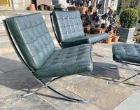 Pair of Barcelona Chairs & Ottoman (5 of 30)