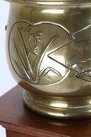 Antique Arts & Crafts Brass Planter / Jardinière (4 of 13)
