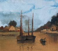 Wonderful Original 19th Century Antique Seascape Landscape Watercolour Painting (6 of 12)