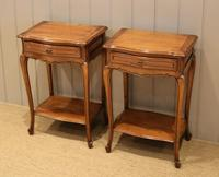 Pair of French Cherrywood Tables (2 of 11)