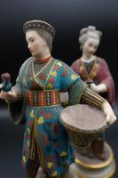 Charming Pair of Early 20th Century Meissen Figures in Oriental Garb (3 of 9)