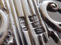 Rare Scottish Victorian 1897 Hallmarked Solid Silver Nurses Belt Buckle Glasgow (8 of 8)