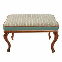 Victorian Oblong Rosewood Stool (2 of 7)