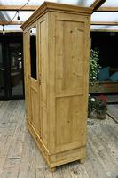 Lovely Old Antique Pine Triple 'knock down' Wardrobe - We Deliver / Assemble (4 of 8)
