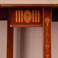 Inlaid Mahogany Edwardian Sutherland Table (16 of 19)