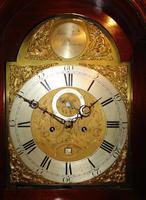 Scottish Georgian Cuban Mahogany Longcase Clock (3 of 10)