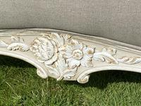 Superkingsize French painted bed (3 of 6)