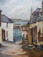 Oil on Canvas Cornish Sea View Listed Artist Dora Johns 1966 (7 of 10)