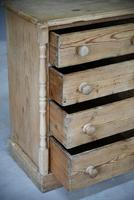 Antique Small Pine Chest of Drawers (6 of 12)