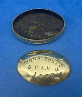 19th Century Brass Minors Tobacco Tin (4 of 12)
